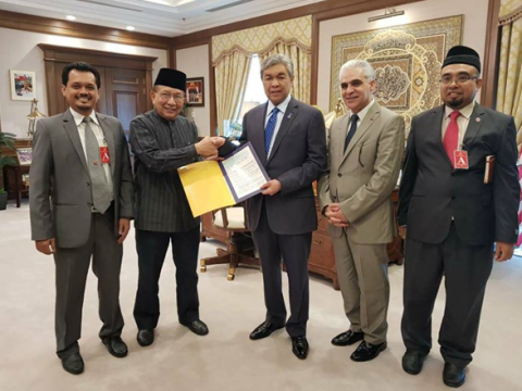 ISTAC Received RM10 Million from Deputy Prime Minister