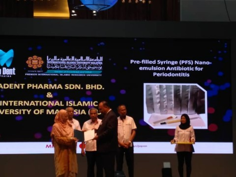 Congratulations to Assit. Prof. Dr. Mohd. Affendi for the prestigious award!