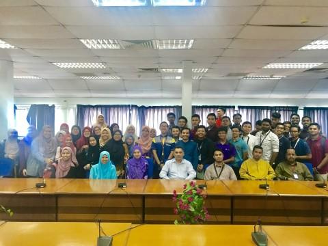 ENGINIUS XXV and Line-Up Meeting with Kulliyyah Management
