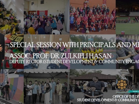SPECIAL SESSION BETWEEN DEPUTY RECTOR (STUDENT DEVELOPMENT & COMMUNITY ENGAGEMENT) WITH PRINCIPALS AND ALL MRC MEMBERS