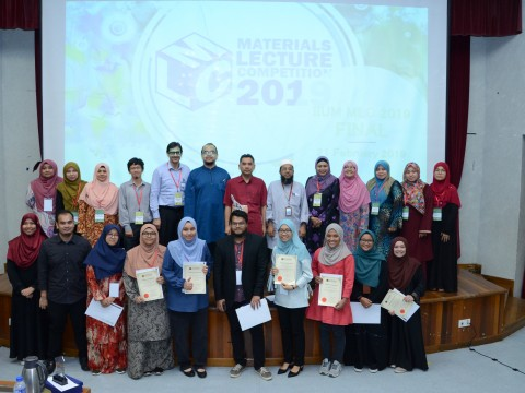 IIUM-MATERIALS LECTURE COMPETITION 2019 (IIUM-MLC 2019)