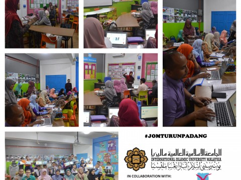 2-Days Students and Teachers Training: Interactive Science Subject Enhancement Via 3D Modelling