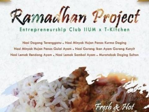 Ramadhan Project Entrepreneurship Club (EC) & T Kitchen