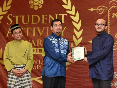 """Well done KOD student for """"Sport Leadership Award"""" during """"Student Activity Award 2018"""""""