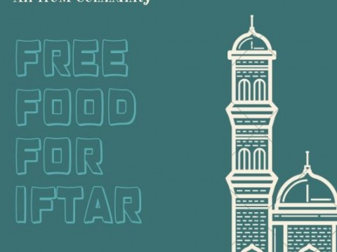 FREE FOOD FOR IFTAR