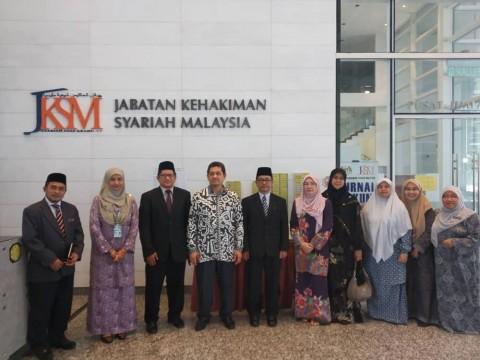 MEETING BETWEEN AIKOL'S EXCO AND JABATAN KEHAKIMAN SYARIAH MALAYSIA