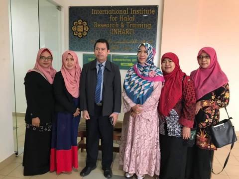 A visit by Universitas Islam Negeri Wali Songo Semarang Indonesia
