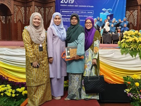 Congratulations to Kulliyyah of Nursing on the achievements in IIUM Takrim Day 2019