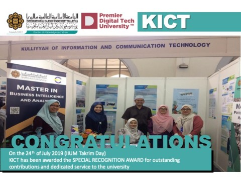 Congratulations - Kulliyyah of ICT