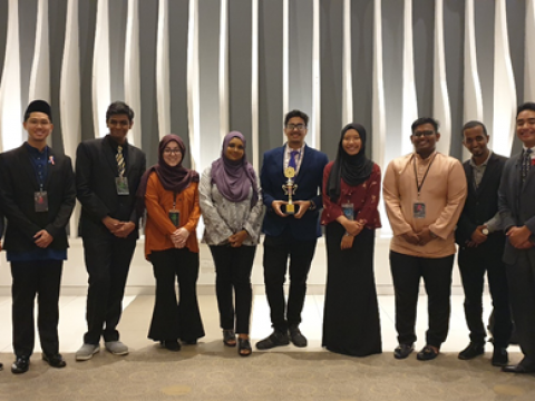 IIUM Wins Best Delegation and Individual Awards at Sunway Model UN Conference