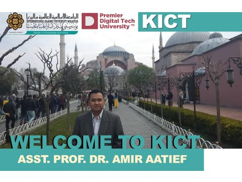Welcome, Dr. Amir Aatieff!