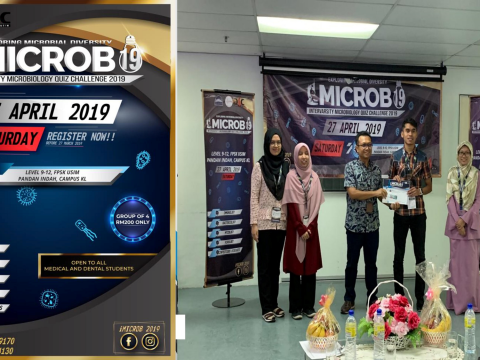 """KOD students won """"Second Place"""" during Intervarsity Microbiology Quiz Challenge 2019"""