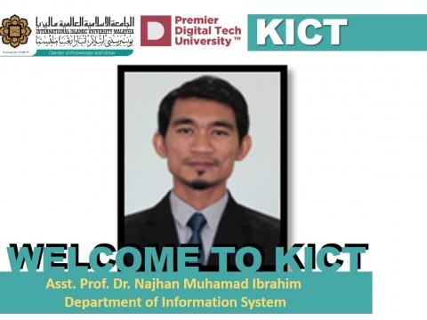 Welcome, Dr. Najhan!