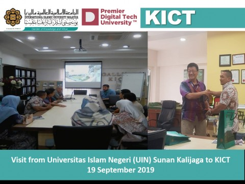 Visit from Universitas Islam Negeri (UIN) Sunan Kalijaga to KICT