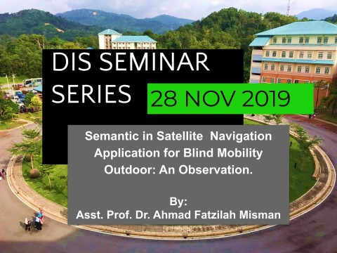 DIS Seminar Series 28 NOV 19