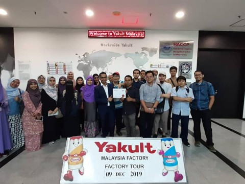 Visit to JAKIM and YAKULT COMPANY