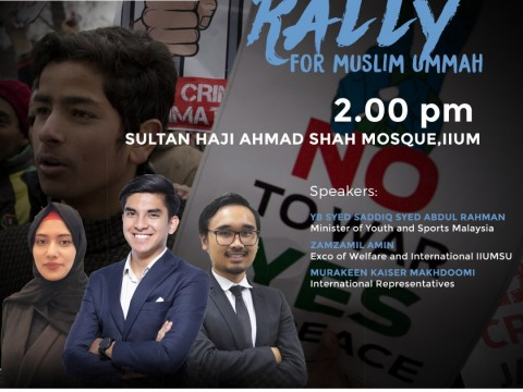 RALLY FOR MUSLIM UMMAH