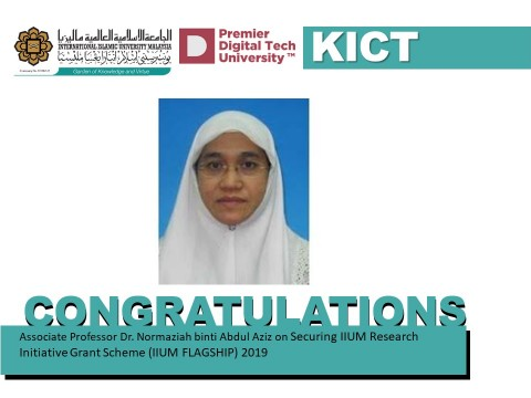 Congratulations to Assoc. Prof. Dr. Normaziah