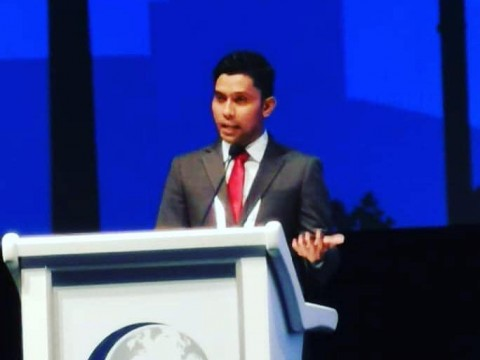 Speaking at World Halal Summit 2019, Istanbul, Turkey