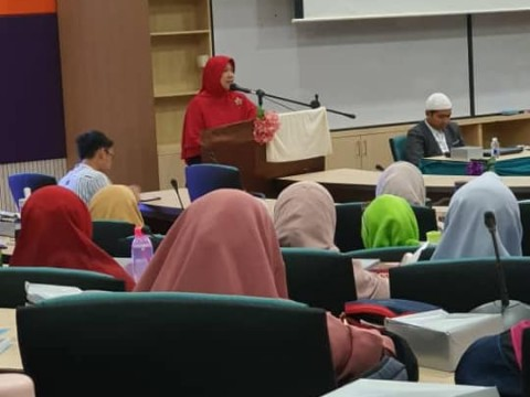 Introducing INHART during Qur'an Memorization Seminar & Workshop