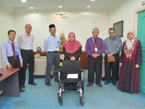 Handover of Wheelchair