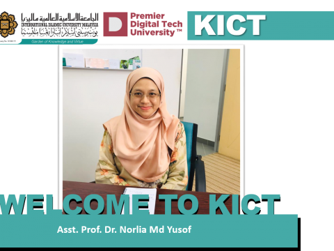 Welcoming Dr. Norlia Md Yusof