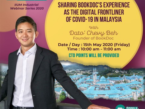 Sharing BookDoc's Experience as the Digital Frontliner of Covid-19 In Malaysia
