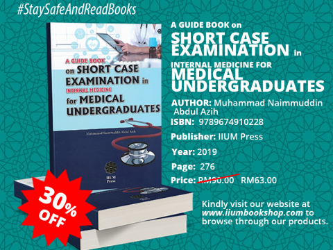 OFFER!!! : A Guide Book on SHORT CASE EXAMINATION in Internal Medicine for MEDICAL UNDERGRADUATES