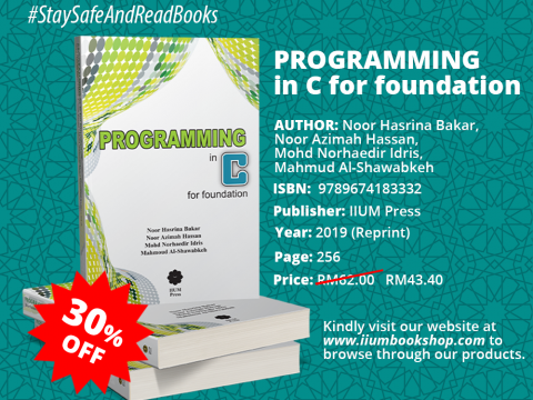 OFFER!!! : PROGRAMMING IN C FOR FOUNDATION