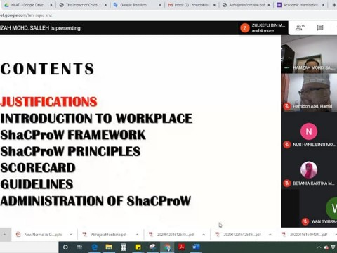 Session 1 : ShaCProW TRAINING FOR TRAINERS
