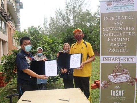 ​LOI Signing on Integrated and Sustainable Agriculture Farming (InSAF) Project