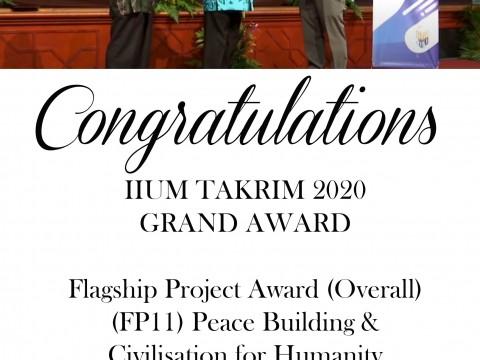 Congratulations Assoc. Prof. Dr. Danial Mohd Yusof