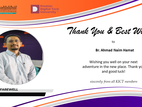 Thank You Br. Ahmad Naim Hamat