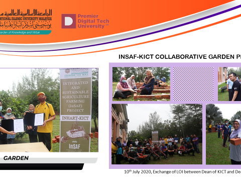 INSAF-KICT Collaborative Garden Project