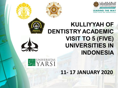 Kulliyyah of Dentistry Academic Visit to Universities in Indonesia