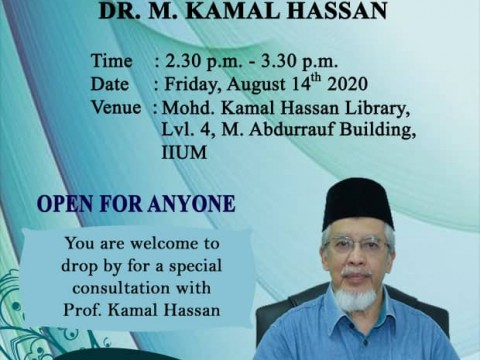 ADVISORY ACADEMIC CONSULTATION WITH PROFESSOR Emeritus Dr. M. KAMAL HASSAN