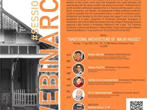 WEBINARCH #Session 1: Traditional Architecture of Malay Houses