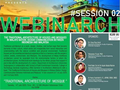 WEBINARCH #Session 2: Traditional Architecture of Mosque