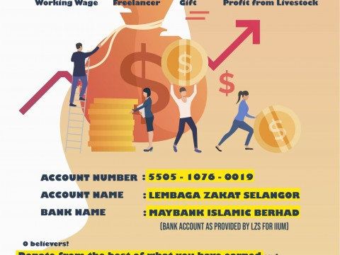 IIUM ZAKAT CAMPAIGN - Let's Pay Zakat on Income