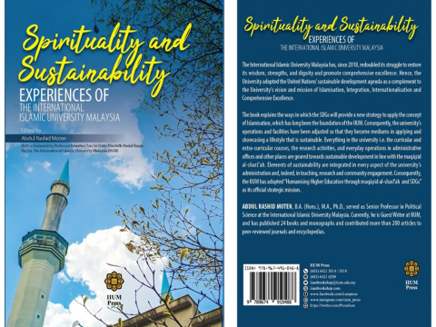 CONGRATULATIONS ON THE BOOK  SPIRITUALITY AND SUSTAINABILITY