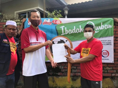 Ibadah Qurban 1441H Organized by QSR Brands and INHART