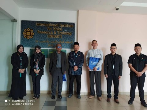 Visit by Sultan Ahmad Shah Medical Centre (SASMEC), IIUM Shari'ah Compliant Unit