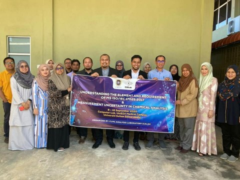 Unisza workshop by Dr Shirwan Sany of INHART