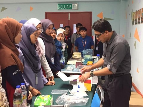 Halal laboratory analysis training by INHART in MISDEC