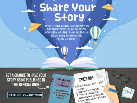 SHARE YOUR STORY COMPETITION