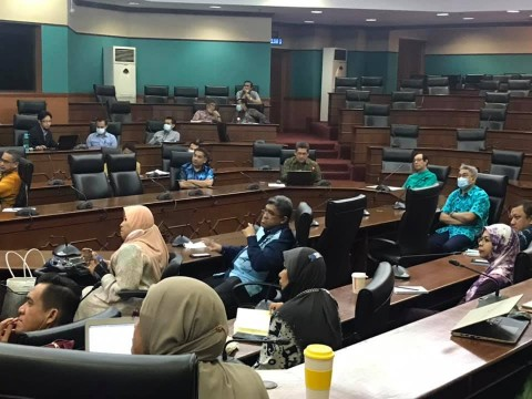 INHART represented by the Head of Halal Awareness, Community and Outreach, attended the Workshop on Community Engagement Framework