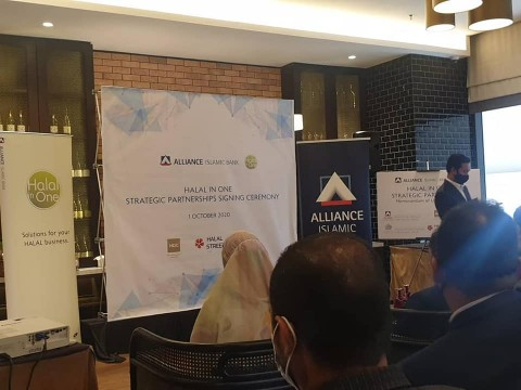 INHART's Head of Consultancy attended Alliance Strategic Partnership Signing Ceremony