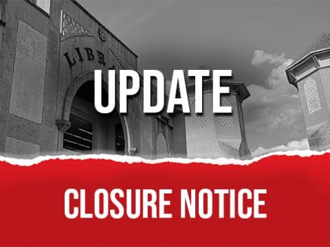IIUM LIBRARY :: Update! Closure Notice