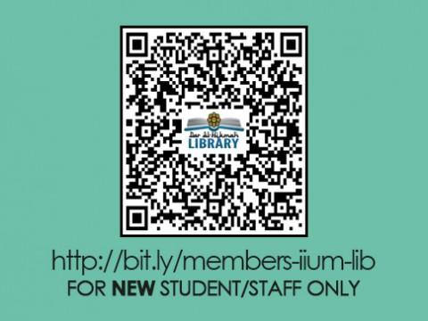 IIUM LIBRARY :: Library Membership - Online Application
