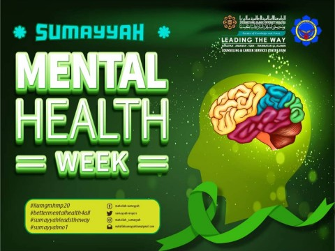 SUMAYYAH MENTAL HEALTH WEEK